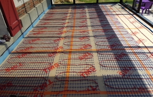 Gauthier Sellier Electricité générale - Installation plancher chauffant